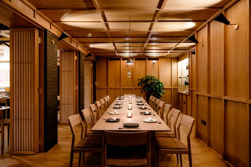 Private Dining at the Pantechnicon Rooms