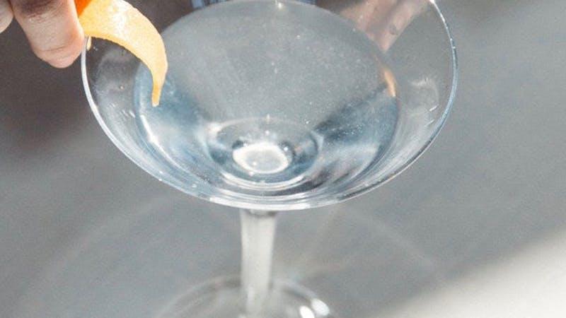 Salcombe Gin Pennant Martini