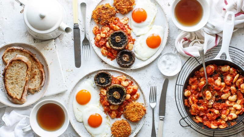 Healthy Full English