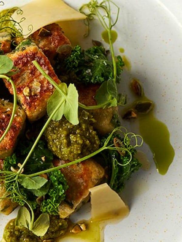 Homemade Kale Gnocchi