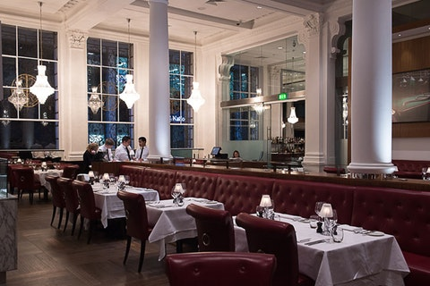 Wheeler's Oyster Bar & Grill Room at Threadneedles Hotel
