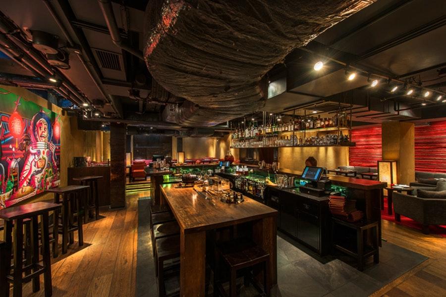 Shochu Lounge at Roka Charlotte Street