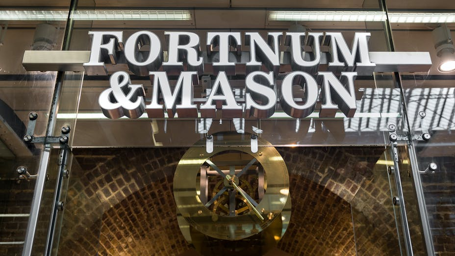 St Pancras Tea Salon at Fortnum & Mason