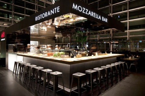 Obicà Mozzarella Bar Canary Wharf