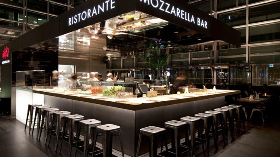Obicà Mozzarella Bar Canary Wharf