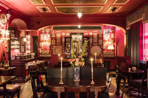 Seymour's Parlour at The Zetter Townhouse Marylebone