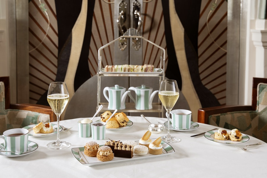 Afternoon Tea at Claridge