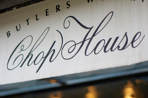 Butlers Wharf Chop House Bar and Grill
