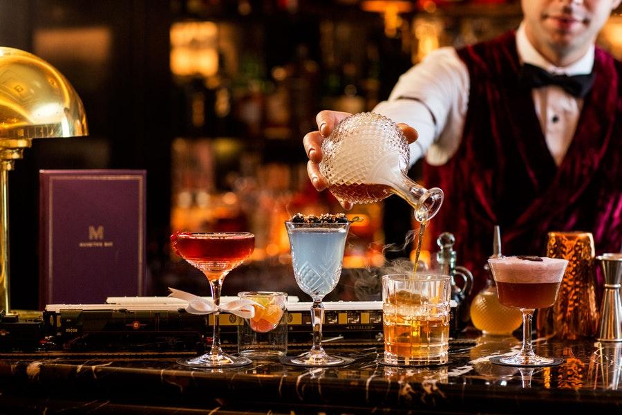 Manetta's Bar at Flemings Mayfair