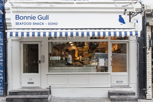Bonnie Gull Seafood Shack Soho