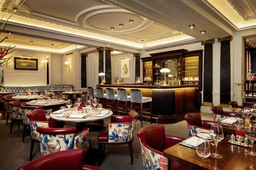 The Game Bird at The Stafford London