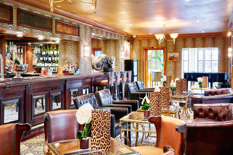 The Leopard Bar and Cigar Lounge at The Montague on the Gardens