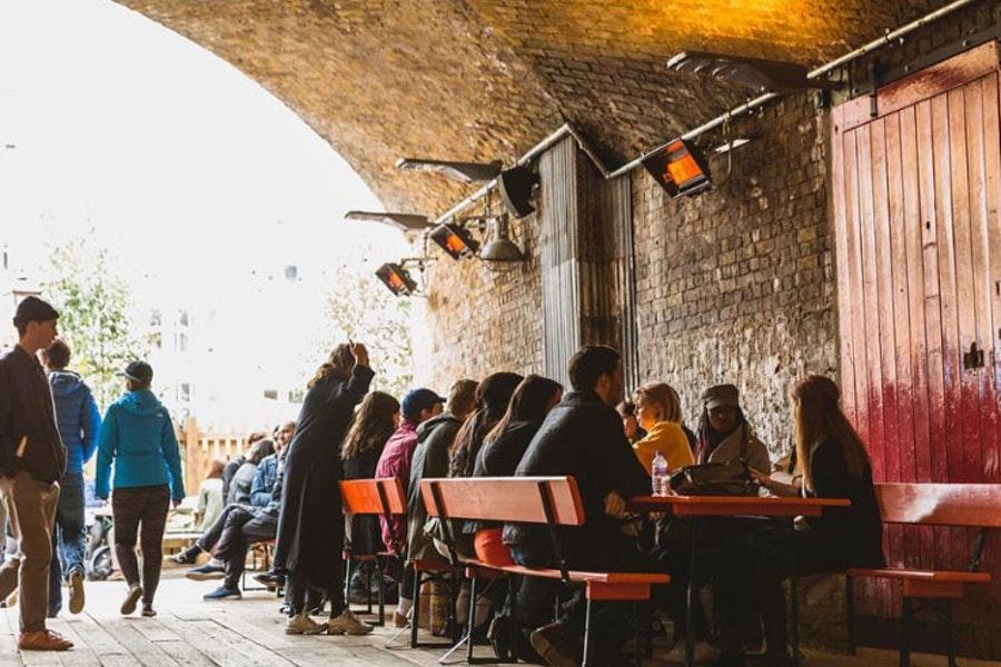 The Bar at Flat Iron Square