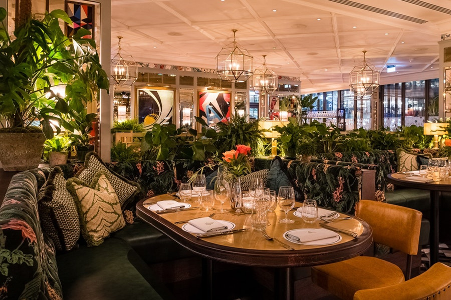 The Ivy Brasserie Spinningfields Manchester