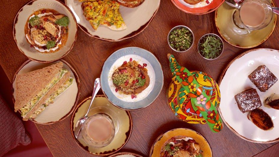 Afternoon tea at Cinnamon Bazaar