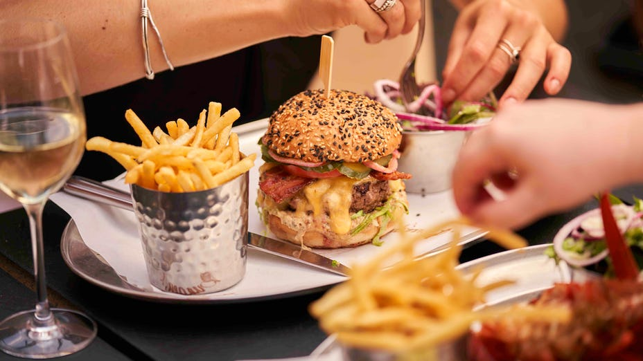 Burger and Lobster West India Quay