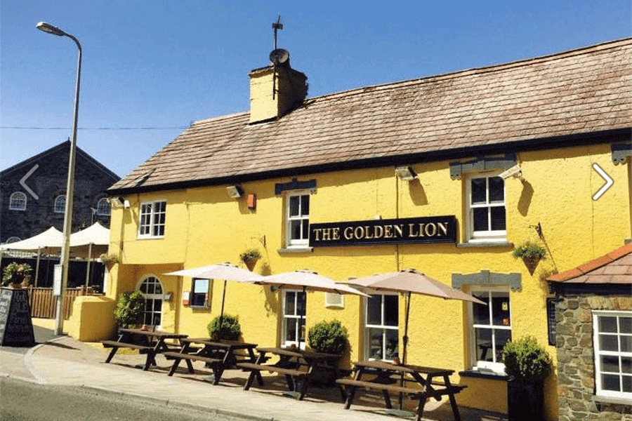 The Golden Lion Newport