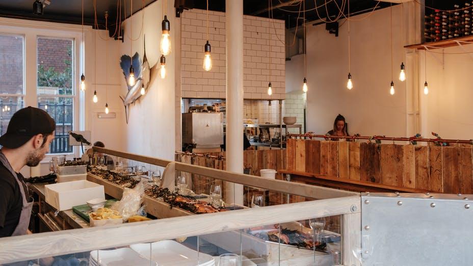 The Oystermen Seafood Bar & Kitchen, London - Restaurant