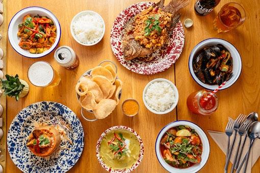 Rosa's Thai Cafe Seven Dials