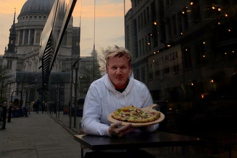 Street Pizza Gordon Ramsay