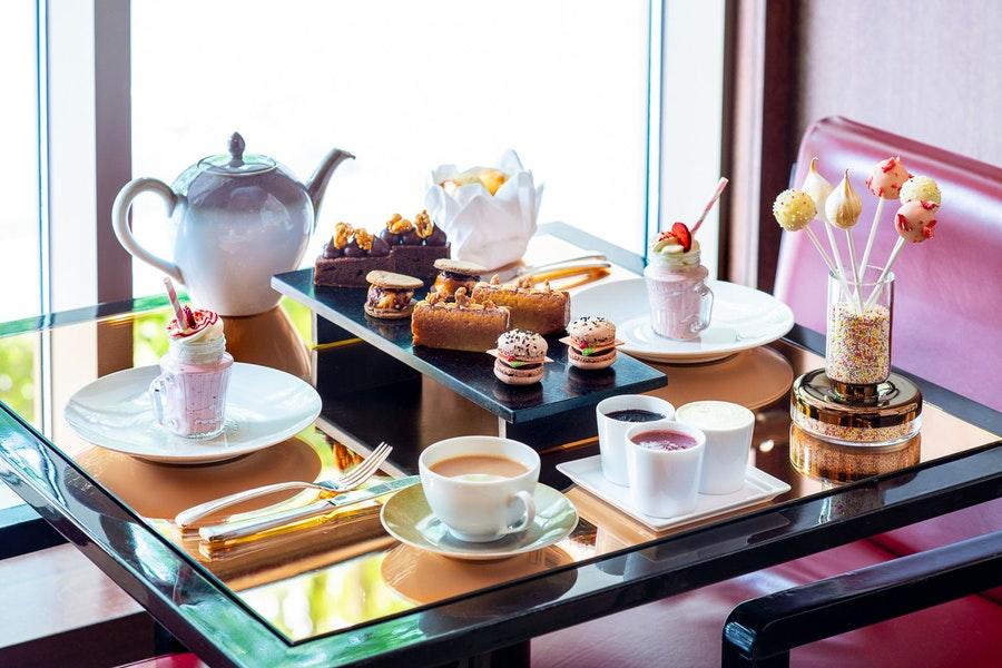 Afternoon tea at Cut at 45 Park Lane