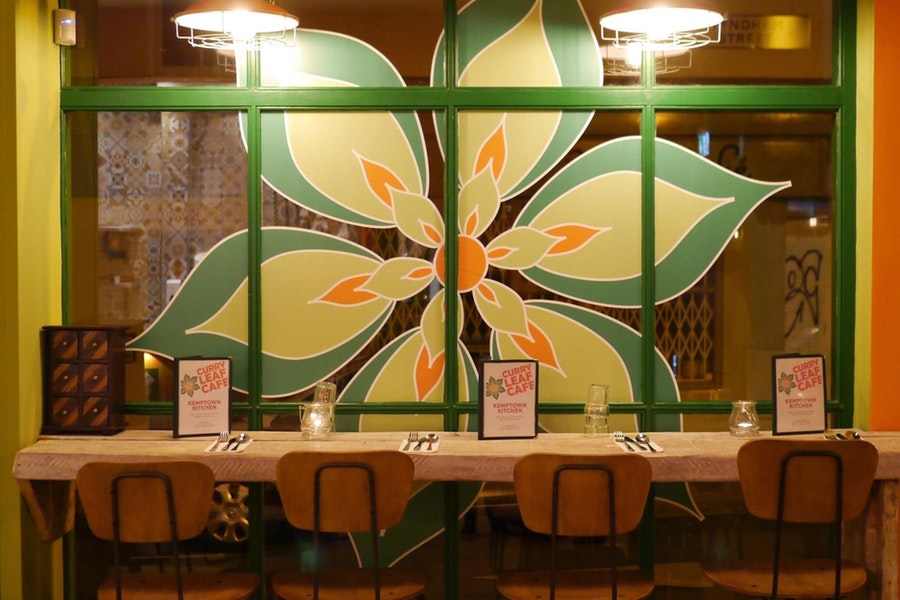 Curry Leaf Cafe Kemptown Kitchen East Sussex Restaurant