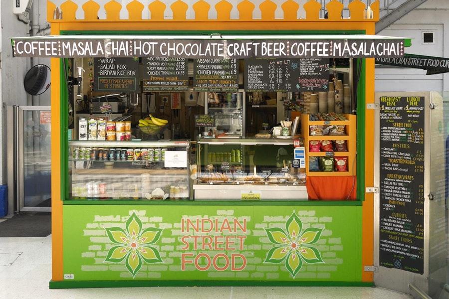 Curry Leaf Cafe - Brighton Station
