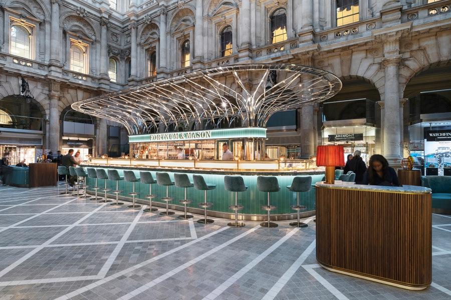 The Fortnum's Bar & Restaurant at Royal Exchange