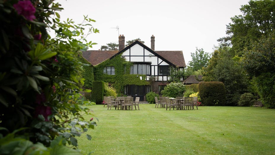 The Garden Restaurant at Cisswood House Hotel