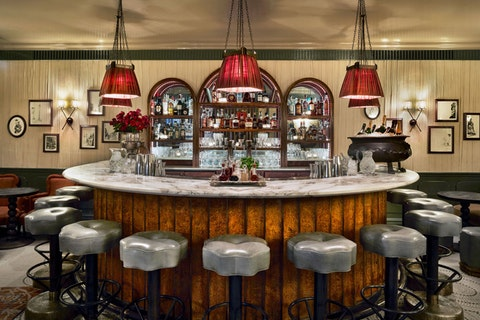 Champagne Bar and Piano Bar at Kettner's Townhouse