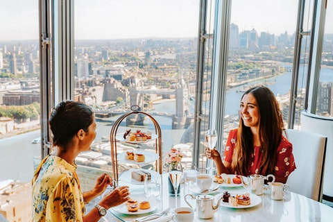 Afternoon Tea at Ting, Shangri-La At The Shard