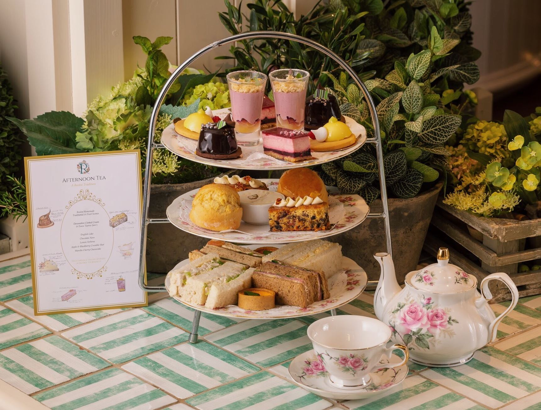 Afternoon Tea at the Roslin Beach Hotel