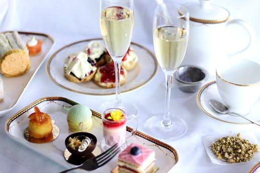 Afternoon Tea at The Waldorf Hilton