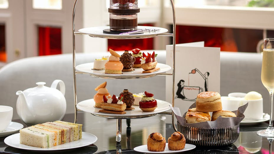 Afternoon Tea at Jean-Georges at The Connaught