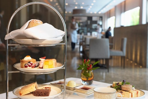 Afternoon Tea At Park Terrace