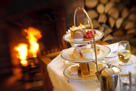 Afternoon Tea at The Montagu Arms Hotel