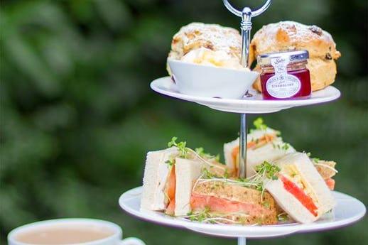 Afternoon Tea @The Garden Restaurant