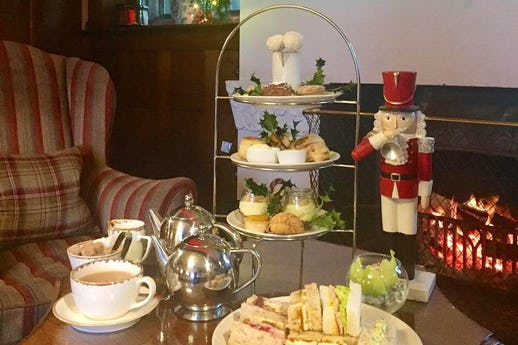 Afternoon Tea at Holbeck Ghyll