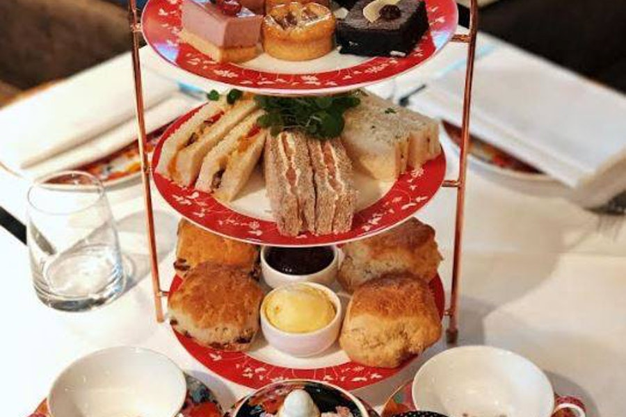 Afternoon Tea at Amba Hotel Marble Arch