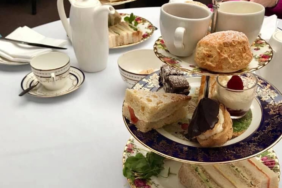 Afternoon Tea at Hollin Hall