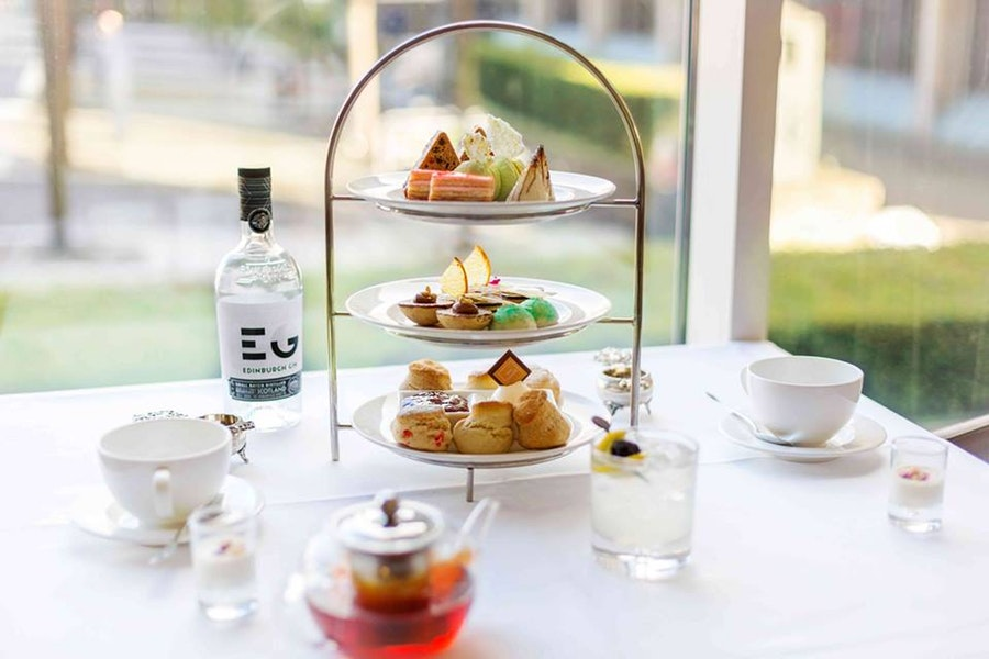 Afternoon Tea at One Square Restaurant