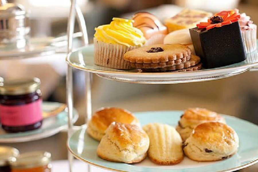 Afternoon Tea at The Grange Country House Hotel & Restaurant
