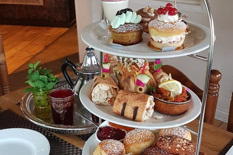Afternoon Tea at Leila Moroccan