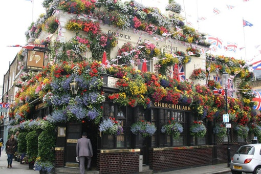 The Churchill Arms - Kensington Church Street