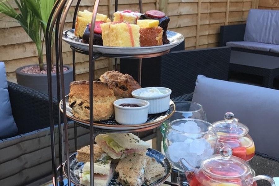 Nithsdale Hotel - Afternoon tea
