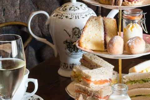 Afternoon Tea at Glen Mhor