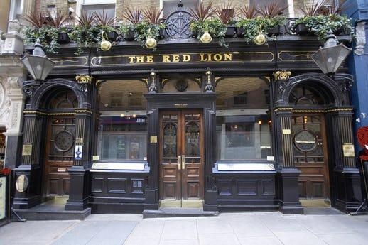 The Red Lion Duke of York Street