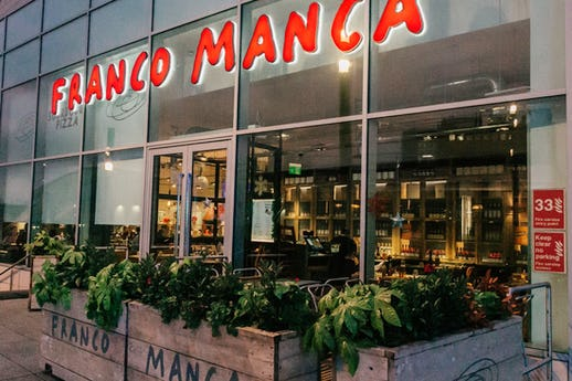 Franco Manca Westfield London