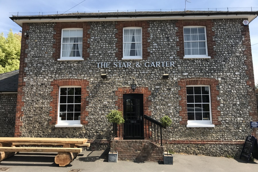 The Star & Garter at East Dean