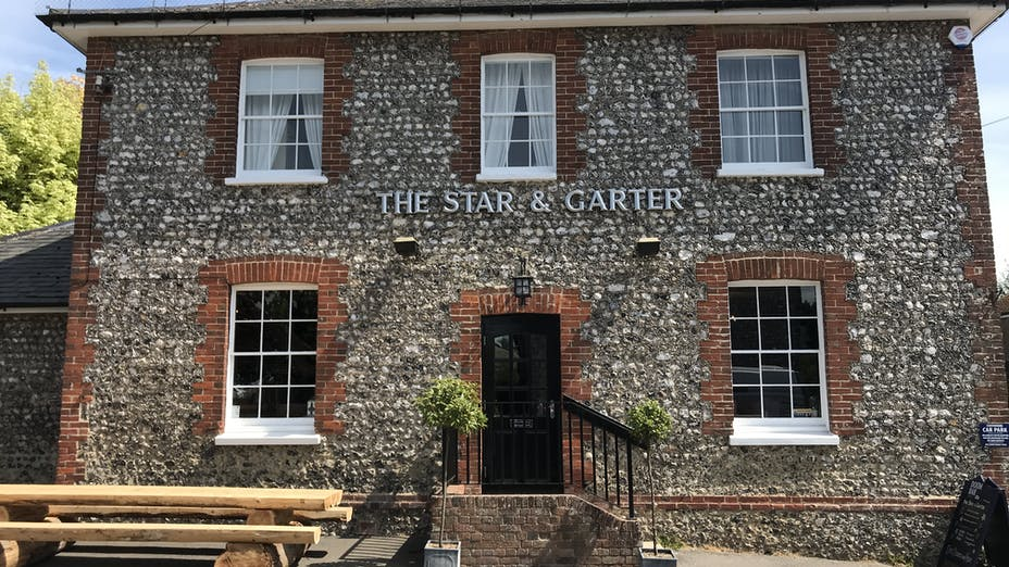The Star & Garter at East Dean
